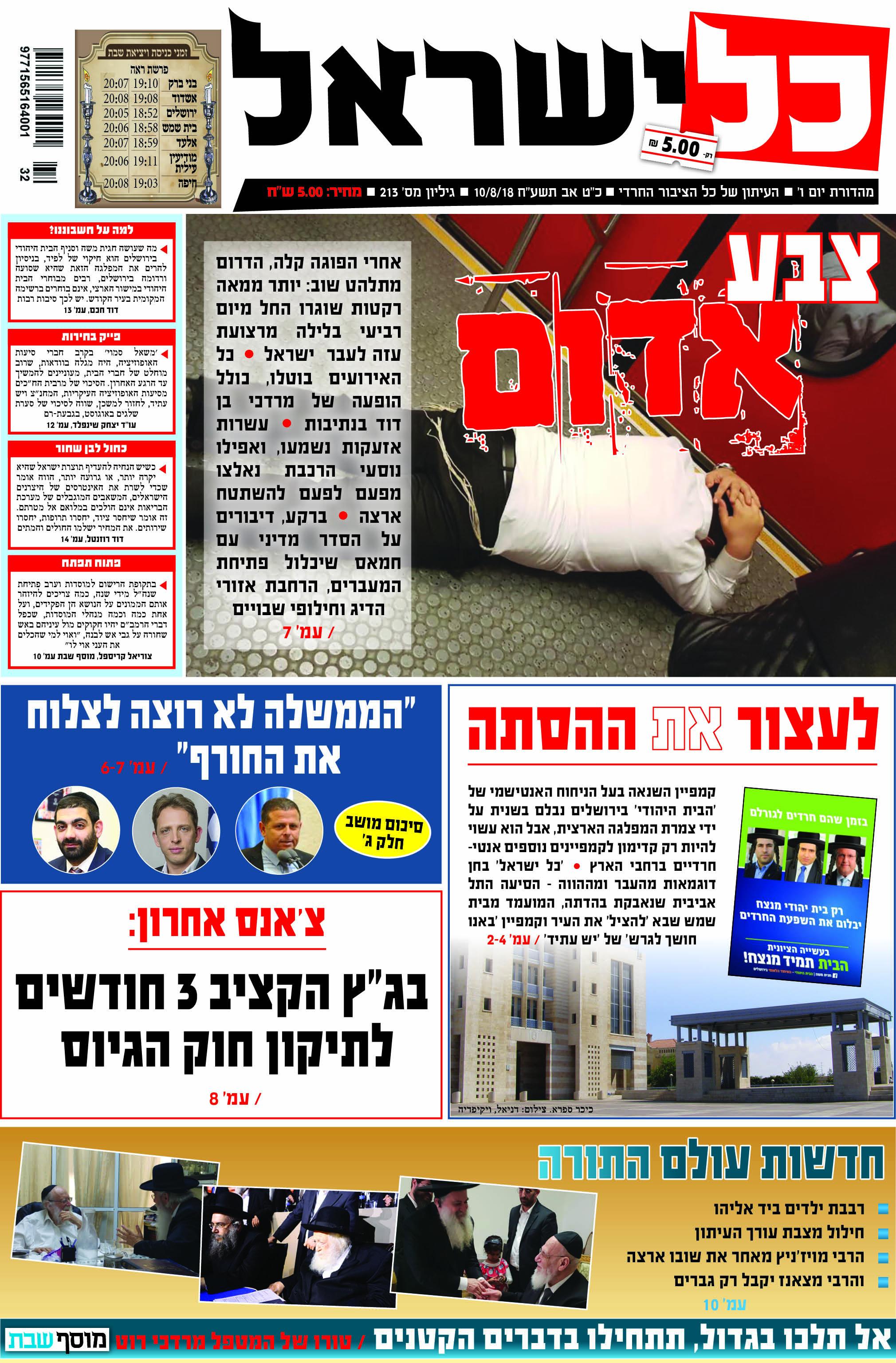כותרת כל ישראל